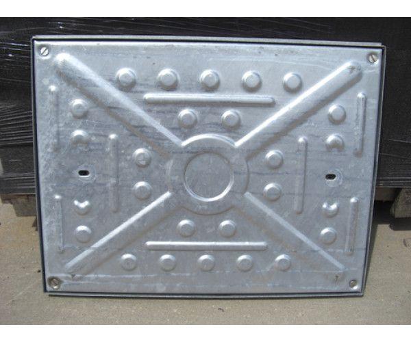 double seal pressed steel galvanised manhole cover build lsd. Black Bedroom Furniture Sets. Home Design Ideas