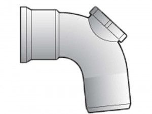 FloPlast - Access Fittings - 87.5° - D169