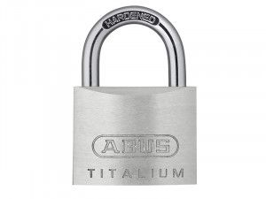 ABUS Mechanical 54TI/35mm Titalium Padlock Carded