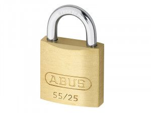 ABUS Mechanical, 55/25 25mm Brass Padlocks