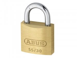 ABUS Mechanical, 55/30 30mm Brass Padlocks