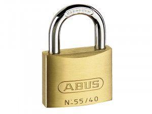 ABUS Mechanical, 55/40 40mm Brass Padlocks