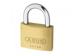 ABUS Mechanical, 55/50 50mm Brass Padlocks