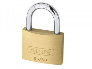 ABUS Mechanical, 55/60 60mm Brass Padlocks