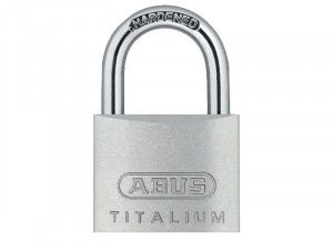 ABUS Mechanical, 64ti 20mm Titalium Padlocks