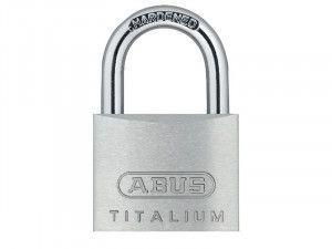 ABUS Mechanical, 64ti 25mm Titalium Padlocks