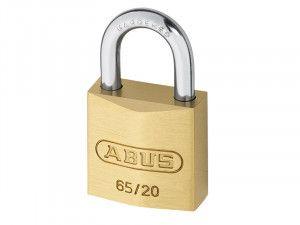 ABUS Mechanical, 65/20 20mm Brass Padlocks