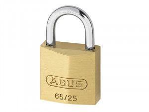 ABUS Mechanical, 65/25 25mm Brass Padlocks