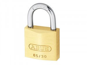 ABUS Mechanical, 65/35 35mm Brass Padlocks