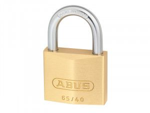 ABUS Mechanical, 65/40 40mm Brass Padlocks