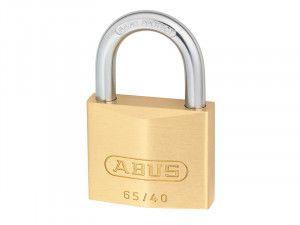 ABUS Mechanical, 65/40 40mm Brass Padlocks