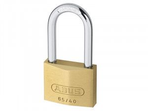 ABUS Mechanical, 65/40 HB Brass Padlocks Long Shackle
