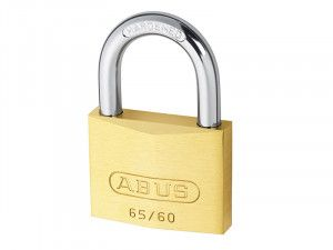 ABUS Mechanical, 65/60 60mm Brass Padlocks