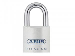 ABUS Mechanical, 80TI 50mm Titalium Padlocks