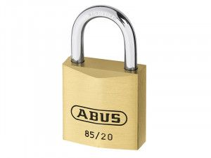 ABUS Mechanical 85/20 20mm Brass Padlock