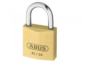 ABUS Mechanical 85/30 30mm Brass Padlock Carded
