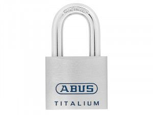 ABUS Mechanical, 96Ti 50mm Titalium Padlocks