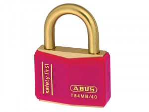 ABUS Mechanical, T84MB/40 Rustproof Brass Padlocks