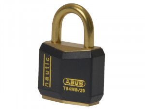 ABUS Mechanical, T84MB/20 Rustproof Brass Padlocks