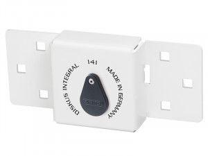 ABUS Mechanical Integral Van Lock White 141/200 + 23/70 with 70mm Series 23 Diskus Padlock