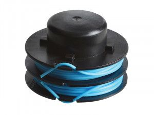 ALM Manufacturing RY372 Spool & Line (Twin Line) for Ryobi Trimmers 1.5mm x 2 x 5m