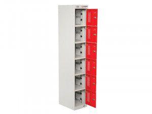 Armorgard PowerStation™ 6 Door Charging Locker 300 x 450 x 1800mm