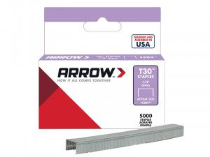 Arrow, T30 Staples - 304 Series