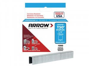 Arrow, T50 Stainless Steel Staples
