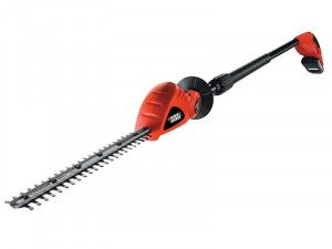 Black & Decker GTC1843L Cordless Pole Hedge Trimmer 18V 1 x 2.0Ah Li-Ion