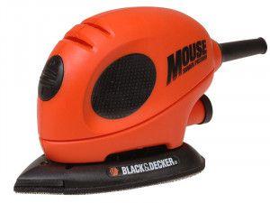 Black & Decker KA161BC Mouse® Detail Sander & Sanding Sheets 55W 240V