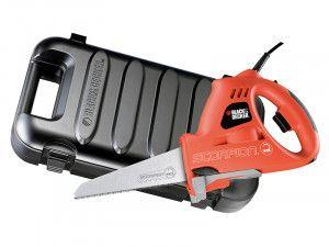 Black & Decker KS890EK Scorpion Powered Handsaw & Kitbox 400W 240V