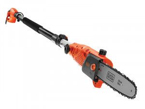 Black & Decker PS7525 Corded Pole Saw 25cm Bar 800W 240V