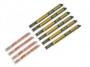 Black & Decker X27000 Assorted Jigsaw Blade Set 10 Piece