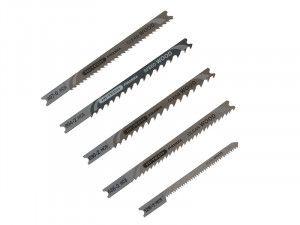 Black & Decker X29205 Wood Jigsaw Blade Set 5 Piece