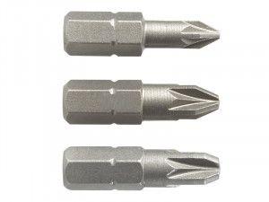 Black & Decker X61043 Screwdriver Pozi Bits Pack of 3