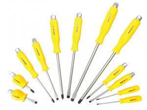 BlueSpot Tools Hex Drive Screwdriver Set 12 Piece