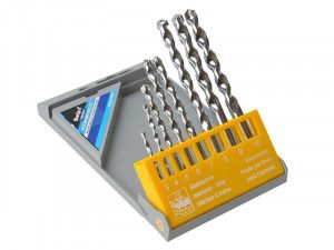 BlueSpot Tools Masonry Drill Set of 8 3.0-10.0mm