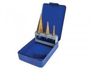 BlueSpot Tools Step Drill Set 4-32mm, 3 Piece