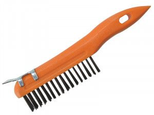 BlueSpot Tools Plastic Wire Brush & Scraper