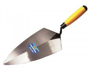 BlueSpot Tools Philadelphia Pattern Brick Trowel Soft Grip Handle 11in