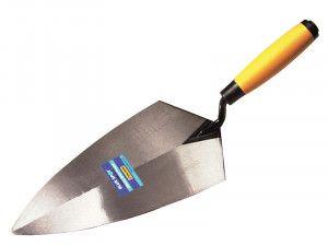 BlueSpot Tools Philadelphia Pattern Brick Trowel Soft Grip Handle 11in