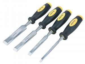 BlueSpot Tools Chisel Set Double Colour Handle Set of 4
