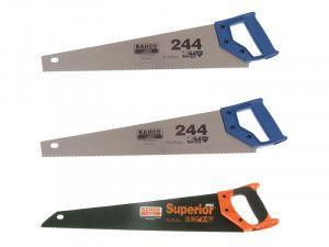 Bahco 2 x 244-20-HP Handsaw 550mm 22in & 1 x 2600-22-XT-HP Handsaw 550mm 22in