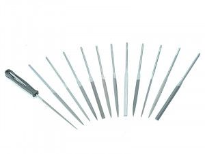 Bahco Needle Set of 12 Cut 2 Smooth 2-472-16-2-0 160mm (6.2in)