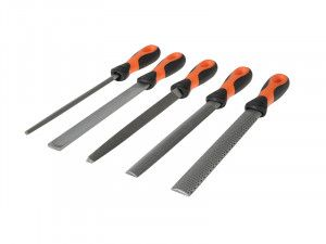 Bahco File Set 5 Piece 1-477-08-2-2 200mm (8in)