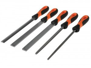 Bahco File Set 5 Piece 1-478-08-1-2 200mm (8in)