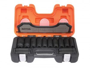 Bahco DD/S14 Deep Impact Socket 14 Piece Set 1/2in Square Drive