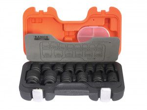 Bahco D/S14 Impact Socket 14 Piece Set 1/2in Square Drive