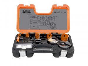 Bahco Professional Holesaw Set 3834 16/51 Sizes: 16-51mm