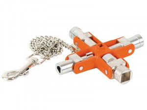 Bahco 9-in-1 Switch Cabinet Master Key